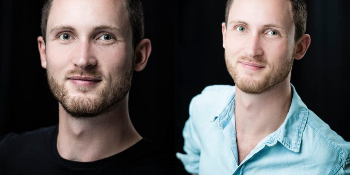 Studioportraits für Videographer Pascal